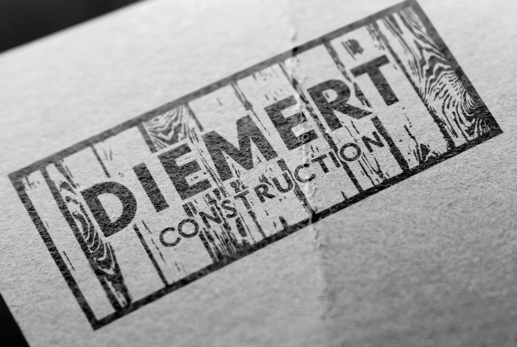 Diemert Construction Logo | BrickStreet Marketing