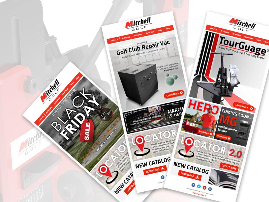 Mitchell Golf Portfolio Image | BrickStreet Marketing