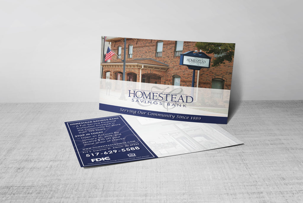 Homestead Postcard Mock-up 2 | BrickStreet Marketing
