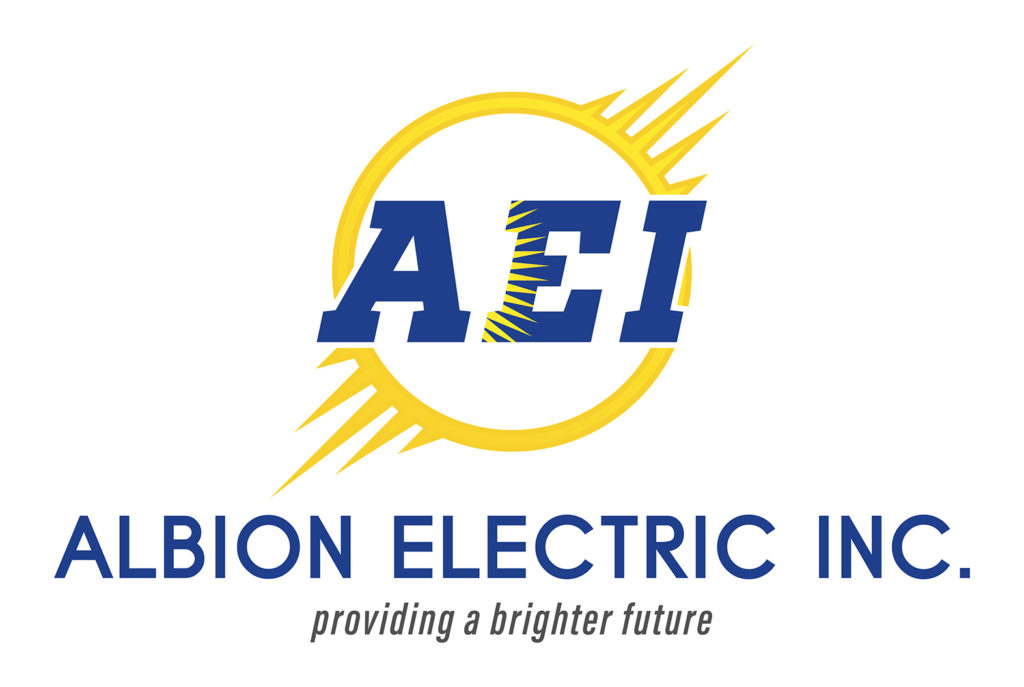 Albion Electric, Inc Portfolio Logo | BrickStreet Marketing