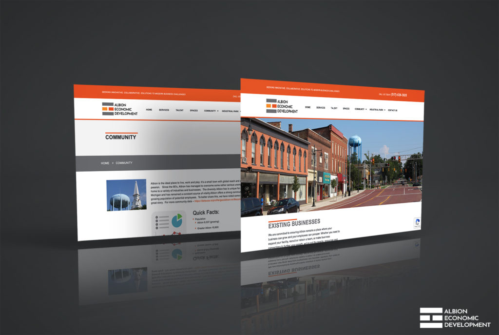 Albion Economic Development Corporation Portfolio Image | BrickStreet Marketing